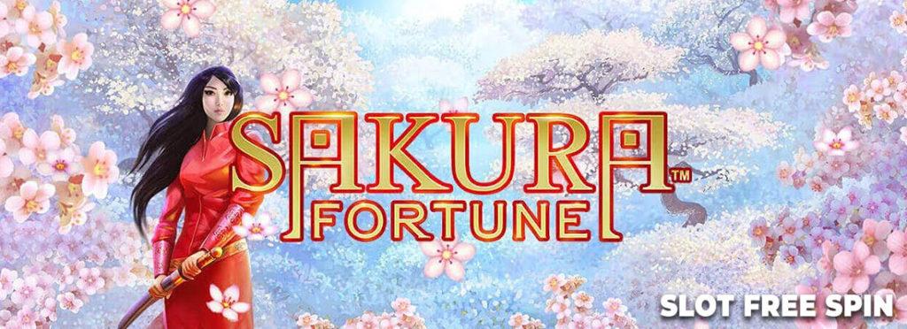 Sakura Fortune Slot Banner Canada