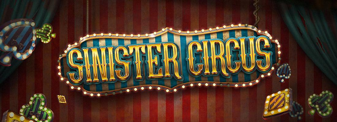 sinister-circus-slot banner