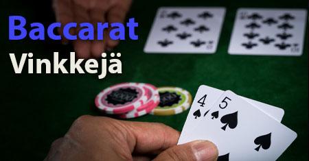 Baccarat Vinkeja