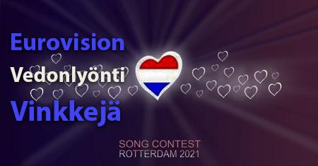 Eurovision Vedonlyonti Vinkeja