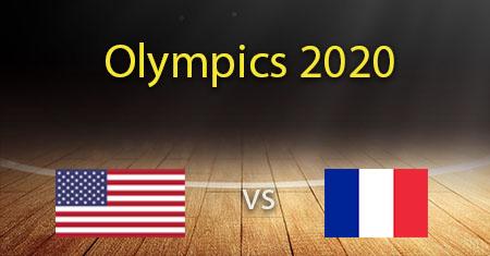 Yhdysvallat - Ranskan naisten koripallonennusteet