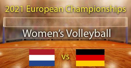 Alankomaat - Saksa 2021 Naisten lentopallon Euroopan mestaruuden