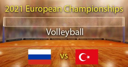 Venäjä - Turkki 2021 Miesten lentopallon