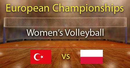 Turkki - Puola Vuoden 2021 naisten lentopallon EM